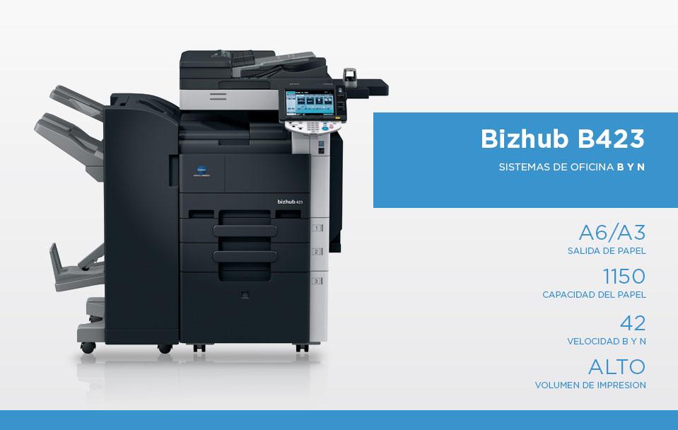 Bizhub B423
