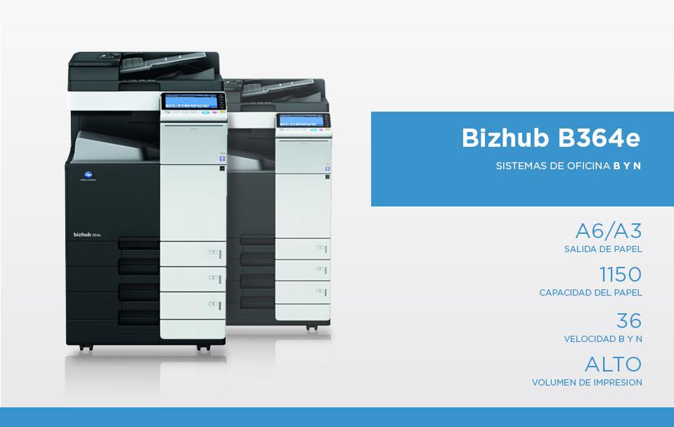 Bizhub B364e
