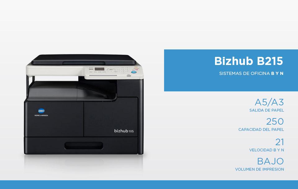 Bizhub B215