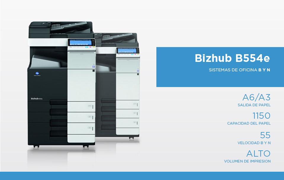 Bizhub B554e