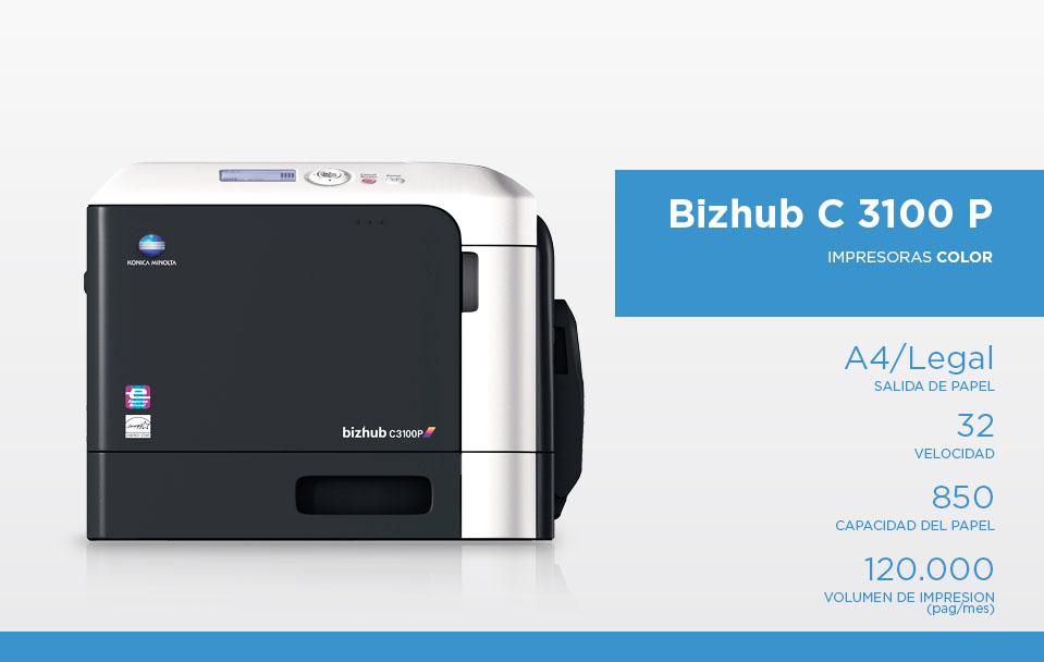 Bizhub c 3100