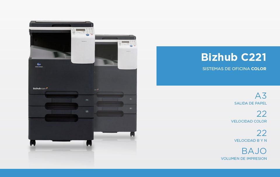 Bizhub c221