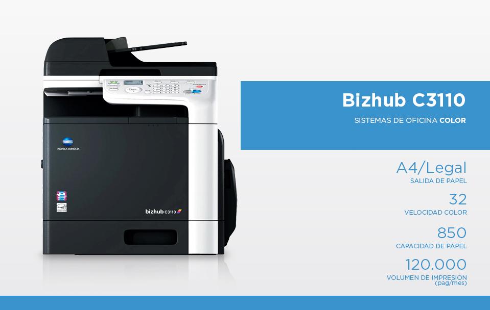 BizhubC 3110