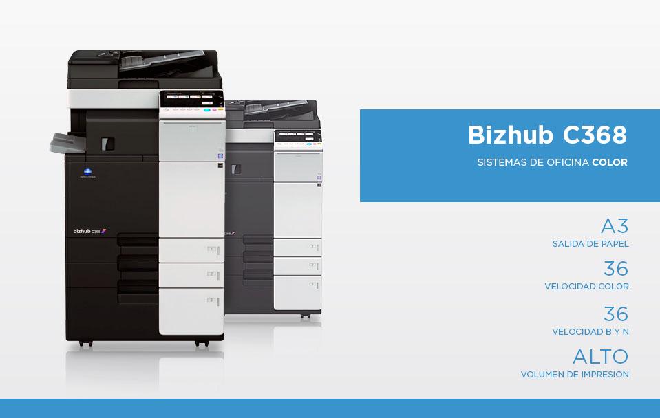 Bizhub C368