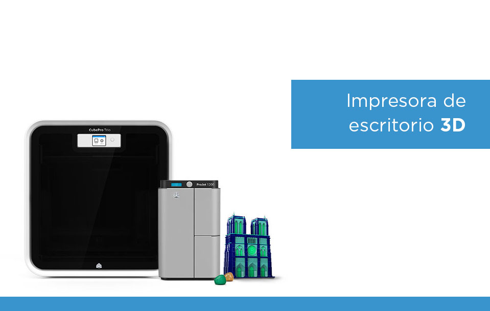 Impresoras de escritorio 3D